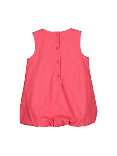 Ausgestelltes Babykleid aus Baumwolle für Mädchen FIBAROB2 / 19SG0962ROB308