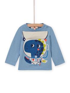 Baby Boy's Horizon Blue Dragon Astronaut T-Shirt MUPLATEE1 / 21WG10O2TML216