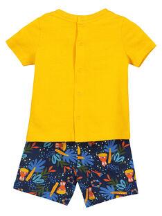 Kurzer Pyjama für Babys Jungen FEGAPYJUN / 19SH14H1PYJ402