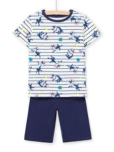Weißer Pyjama Kind Junge LEGOPYCOS / 21SH12C4PYJ001