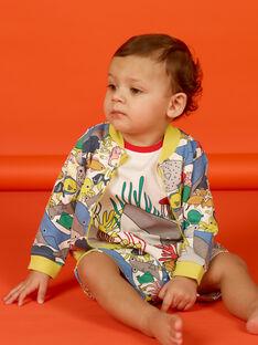 Weste ecru baby boy LUVIGIL / 21SG10U1GIL001
