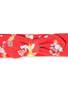 Rotes Baby Mädchen Druck Stirnband LYIHABAND / 21SI09X1BAN505