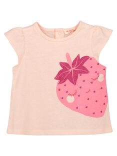 Schickes Baby-T-Shirt für Mädchen FIJOTI9 / 19SG09G4TMC301