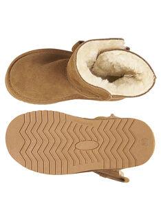 Warme Camel Stiefel aus Lackleder für Kinder Mädchen GFBOTTEPAU / 19WK35Y4D10804