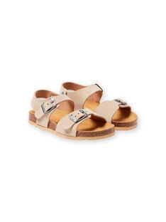 Beige Sandalen für Jungen LGNUBEIGE / 21KK3653D0E080