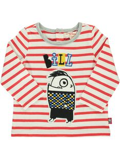 Baby boys' long-sleeved T-shirt DUROUTEE2 / 18WG1022TML099
