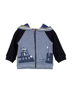 Baby-Weste mit Kapuze und Reißverschluss für Jungen FUCOHOJOG / 19SG1082GIL099