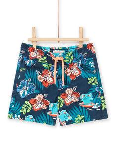 Baby Junge marineblau Bermuda Shorts LUBONBER2 / 21SG10W3BER717