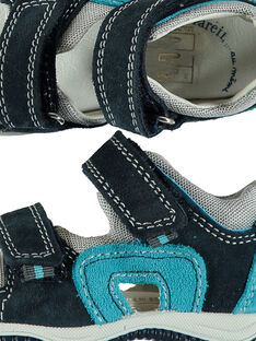 Sandalen aus Leder für draußen Babys Jungen FBGSANDMA / 19SK38K4D0E070