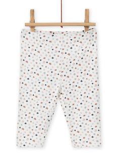 Baby Mädchen Kleid und Leggings Set mit Fantasy-Muster MOU1ENS6 / 21WF0342ENS001