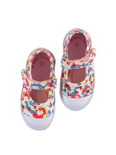 Multicolor SALOME CANVAS SHOES LBFBABCANDY / 21KK3741D17099