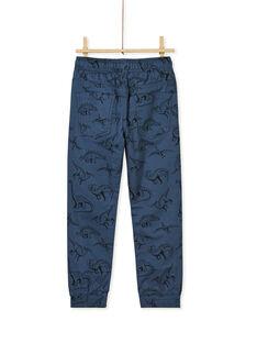 Navy PANTS KOREPAN / 20W902G1PAN705