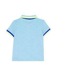 Blaues Polohemd JUQUAPOL / 20SG10R1POLC218