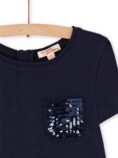 Skating-Kleid in milano bicolor LAJOROB2 / 21S90134D2FC205