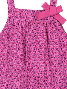 Baby-Kostüm für Mädchen FIJOROB9 / 19SG09G4ROB712