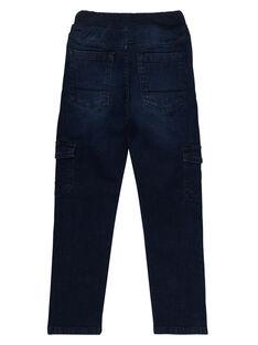 Elastische Cargo-Jeans in Raw Denim für Jungen JOESJEMAT2 / 20S90264D29P271