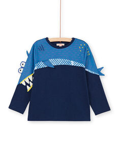 Blauer Hai Animation T-Shirt - Junge Kind LONAUTEE2 / 21S902P1TML070