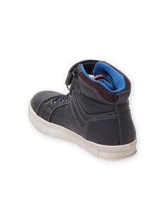 Kind Junge marineblaue sportliche Turnschuhe MOBASGI / 21XK3672D3F070