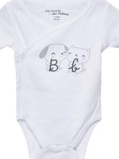 Satz von 2 langärmeligen Wickel-Bodys für Neugeborene JOU1BOD3 / 20SF77J3BOD000