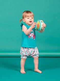 Baby Mädchen Türkis Strand Set LIPLAENS / 21SG09T1ENSC216