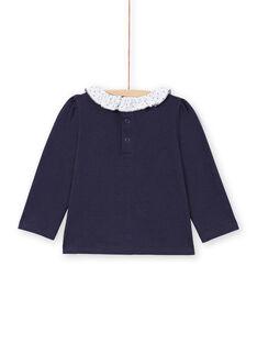 Baby Girl Navy & Weiß T-Shirt MIJOBRA3 / 21WG0913BRA070