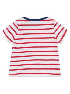 Rotes kurzärmeliges T-Shirt JUJOTI3 / 20SG10T1TMCF524