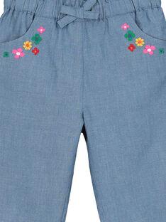 Baby-Leinenhose für Mädchen FICOPAN / 19SG0981PAN704