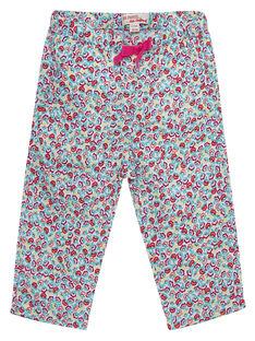 Bedruckte Baby-Hose für Mädchen JIMARPAN / 20SG09P1PAN000