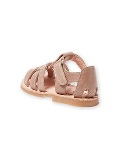 Baby Junge Taupe Sandalen LBGSANDTEO / 21KK3857D0E803