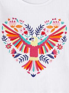 Besticktes kurzärmeliges T-Shirt JAMARTI3 / 20S901P3TMC000