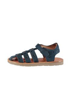 Sandalen aus Leder für draußen Jungen FGSANDINO1 / 19SK36C1D0E070