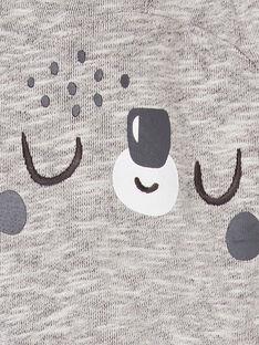 Graue Baby-Jungen-Hose LUPOEPAN3 / 21SG10Y4PANA011