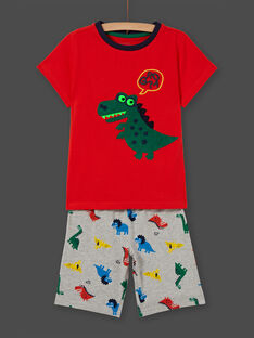 Phosphoreszierender Pyjama für Jungen mit Dinosaurier-Motiv LEGOPYCDINO / 21SH12C1PYJ409