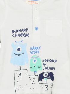 Langärmeliges Baby-T-Shirt für Jungen FUNETUN / 19SG10B3TML000