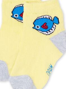 Socken für Jungen (Layette) LYUJOSCHO6 / 21SI1041SOQB115