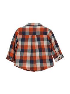 Kariertes Babyhemd für Jungen FUBACHEM / 19SG1061CHM099