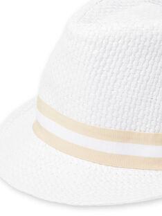 Weißer Hut Baby Junge LYUBALCHA / 21SI10O1CHA000