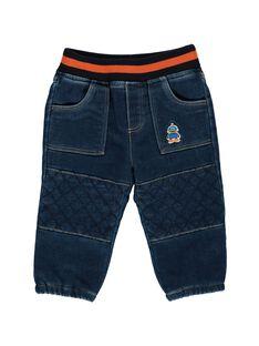 Baby boys' comfy jeans DUBLEJEAN / 18WG1091JEA704