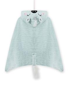 Zebra-Einhorn-Umhang für Mädchen mit Animation MEFACAPZEB / 21WH1191CPE219