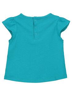 Schickes Baby-T-Shirt für Mädchen FIJOTI7 / 19SG09G2TMC202