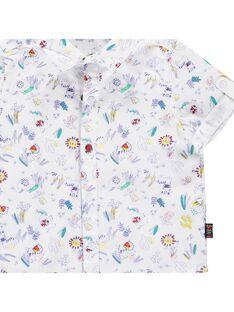 Baby boys' short-sleeved shirt CUFRICHEM / 18SG10H1CHM099