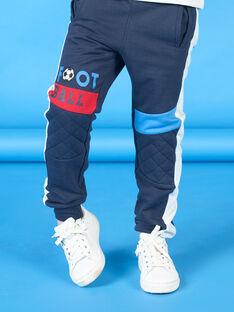 Nachtblaue Joggingschuhe für Jungen LOHAJOG / 21S902X1JGB705