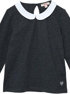 Dark grey baby blouse JAESBRA2 / 20S90163D3A944