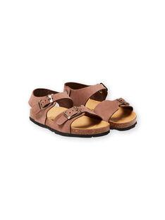 Braune Sandalen für Jungen LGNUMARRON / 21KK3657D0E802