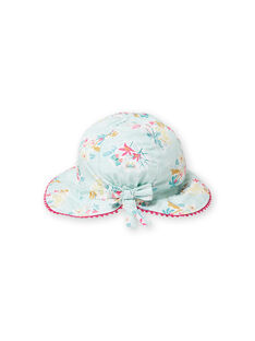 Baby Mädchen blau Hut LYIVERCHA / 21SI09Q1CHAG622