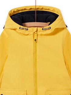 Gelber Regenmantel für Jungen mit Tiger-Print MOGROIMP1 / 21W90251D59B116