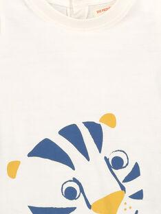 Kurzärmeliges Baby-T-Shirt für Jungen FUJOTI2 / 19SG1032TMC001