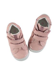 Sportschuh aus flexiblem Leder für Babys Mädchen FBFBASFLEX / 19SK3741D3F030