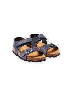 Baby Junge Marine Sandalen LGNUBLEU / 21KK3656D0E070