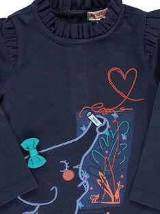 Baby girls' long-sleeved T-shirt DIBLETEE / 18WG0991TMLC205
